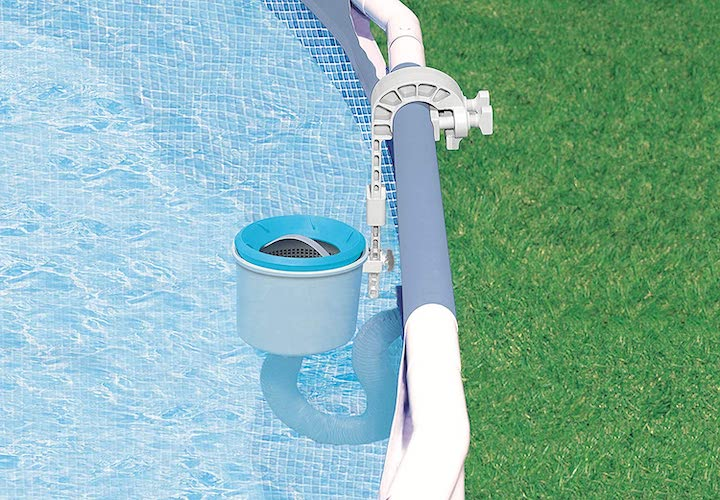 7. Above Ground Pool Deluxe Wall Mount Automatic Skimmer