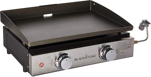 1. Blackstone Tabletop Grill - 22 Inch Portable Gas Griddle