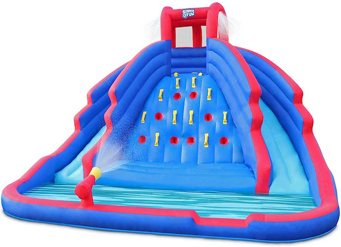 2. Deluxe Inflatable Water Slide Park