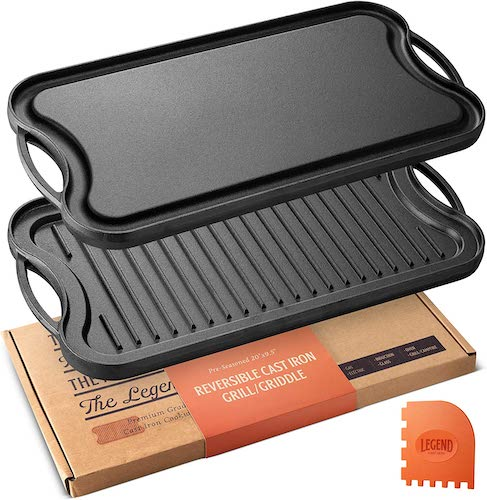 Top 10 Best Cast Iron Grill Pans in 2020 Reviews