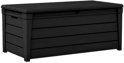 10. Pool Deck Storage Box and Bench is 2 in 1 Multifunctional Patio Seat