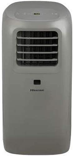 8. Hisense AP1019CR1G 300-sq ft Ultra-Slim Portable Air Conditioner (Renewed)