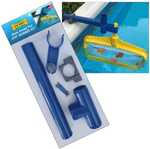 6. Leaf Bone - Above Ground Pool Leaf Skimmer Kit