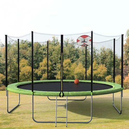 Top 10 Best Trampolines with Net in 2021 Reviews