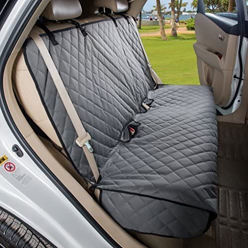 8. VIEWPETS Bench Car Seat Cover Protector