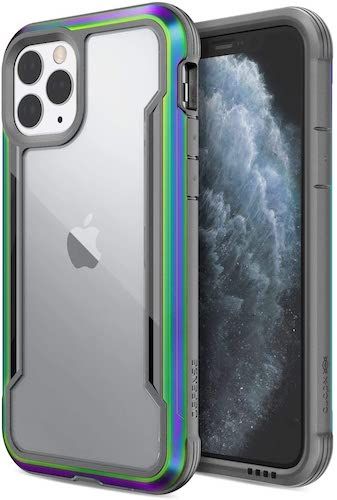 2.Defense Shield, iPhone 11 Pro Case - Military Grade Drop Tested, Anodized Aluminum, TPU, and Polycarbonate Protective Case