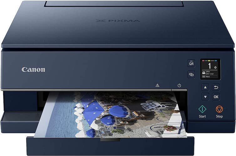 6. Canon TS6320 All-In-One Wireless Color Printer with Copier, Scanner and Mobile Printing