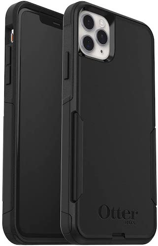6.OtterBox Commuter Series Case for iPhone 11 Pro Max – Black