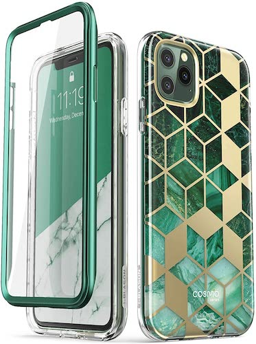 4.i-Blason Cosmo Series Case for iPhone 11 Pro Max 2019 Release, Slim Full-Body Stylish Protective Case with Built-in Screen Protector