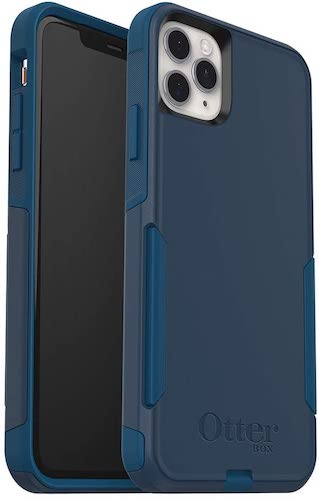 10.OtterBox COMMUTER SERIES Case for iPhone 11 Pro Max - BESPOKE WAY (BLAZER BLUE/STORMY SEAS BLUE)