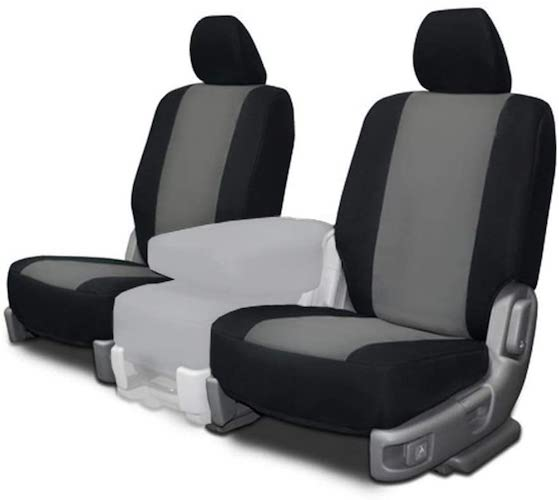 2. CarsCover Custom Fit 2013-2018 Toyota RAV4 LE XLE SUV Neoprene Car Front Seat Covers