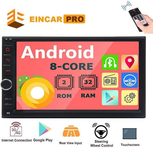 3. Android 8.1 Car Stereo 7 inch Car Bluetooth Radio