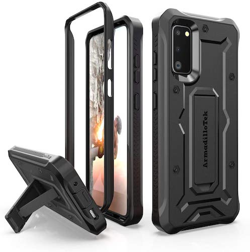 1.ArmadilloTek Vanguard Designed for Samsung Galaxy S20 Case (2020 Release) Military Grade Full-Body Rugged