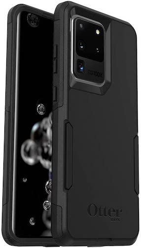 5.OtterBox Commuter Series Case for Galaxy S20 Ultra/Galaxy S20 Ultra 5G - BLACK
