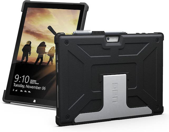 3.URBAN ARMOR GEAR UAG Microsoft Surface Pro 7/Pro 6/Pro 5th Gen Military Drop Tested Case