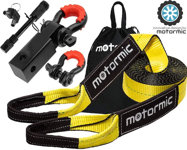 10.motormic Tow Strap Recovery Kit – 3