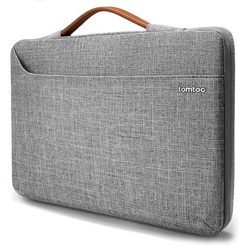 6.tomtoc 360 Protective Laptop Sleeve for Microsoft Surface Pro X/7/6/5/4/3, Huawei MateBook X Pro
