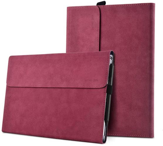 7.xisiciao Protective case for Surface Pro 6 / Pro 5 / Pro 4 with Pen Holder
