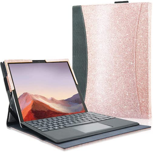 10.ACdream Microsoft Surface Pro 7 Case, Multiple Angle Viewing