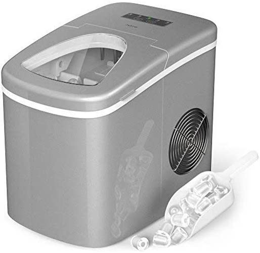 4.hOmeLabs Portable Ice Maker Machine for Countertop - Makes 26 lbs of Ice per 24 hours