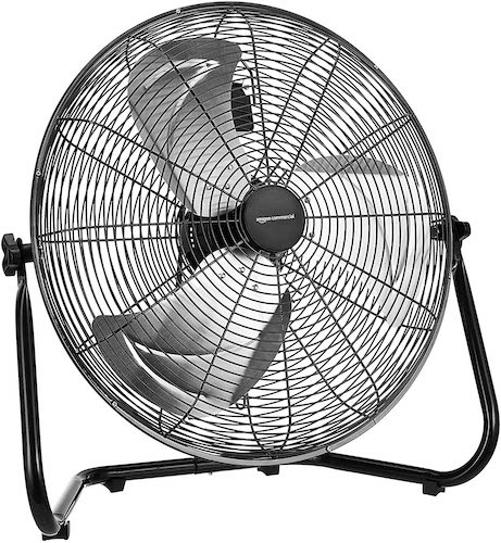 6.AmazonCommercial 18-Inch High Velocity Industrial Fan