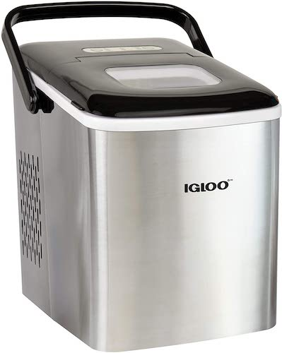 6.Igloo ICEB26HNSS Automatic Self-Cleaning Portable Electric Countertop Ice Maker Machine