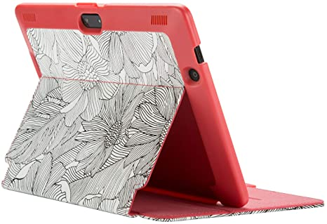 2. Speck Products Stylefolio Kindle Fire Hdx 8.9-inch Case, Fresh Bloom Pink/Black/Coral