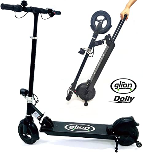 4. Glion Dolly Foldable Lightweight Adult Electric Scooter w/ Premium Li-Ion Battery