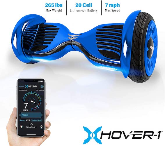 9. Hover-1 Titan Electric Self-Balancing Hoverboard Scooter with 10