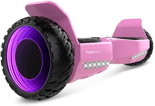 8.HYPER GOGO Hoverboard 6.5inch 3D Wormhole Hoverboards,UL2272 Certified Self Balancing electric scooter
