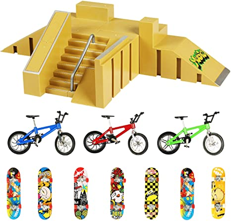9. Evolving Minds Fingerboard Skatepark – Fingerboard Ramps for Finger Skateboard