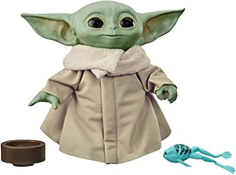 3. Star Wars The Child Talking Plush Toy with Character Sounds and Accessories, The Mandalorian Toy
