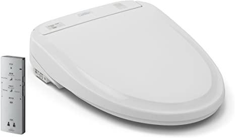 9. TOTO SW574#01 S300e WASHLET Electronic Bidet Toilet Seat with EWATER+ Cleansing, Elongated