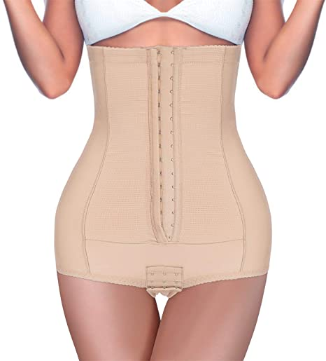 4. BRABIC Postpartum Girdle High Waist Control Panties for Women Butt Lifter Belly Slimming Body Shaper Underwear
