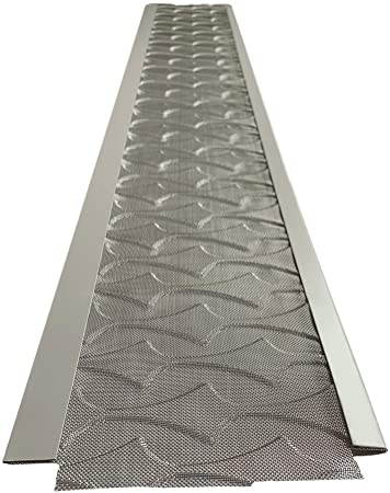 1. Superior Gutter Guards | NEW Raised Stainless-Steel Screen Technology Gutter Cover, DIY Constructed. Fits any Traditional 5-inch Gutter
